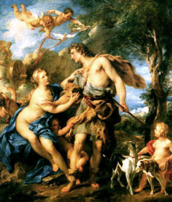 Picture of Adonis and Aphrodite
