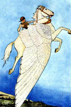 Bellerophon and Pegasus