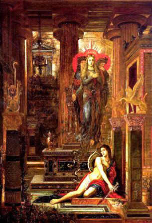 Gustave Moreau - Orestes and the Erinyes