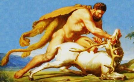 The 12 labors of hercules picture of hercules and the hydra
