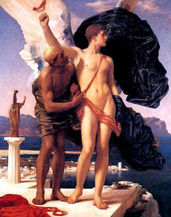 Picture of Icarus and Daedalus