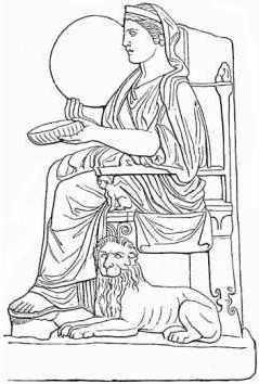 Rhea 1 - Greek Mythology Link
