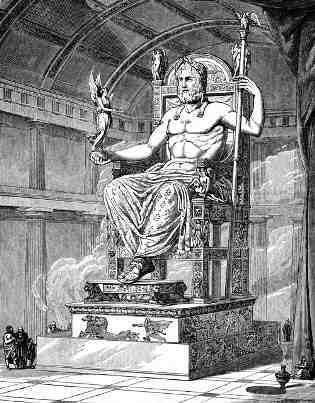Zeus Statue and Temple